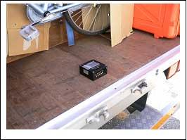 トラックおよび計測器取り付け状況 イメージ1