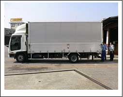 トラックおよび計測器取り付け状況 イメージ2
